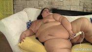 Apples up ass Extra fat bbw slut apple bomb masturbates