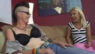Hairy addams cousin - Teeny fucked by tattooed mom