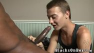 Gay guy ass lickin Xenar gets fucked by two horny black guys