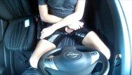 Gay public wanking blog - Young wanking in black latex in car