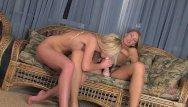 Srapon cum Straponcum: blondes have way more fun 1of4
