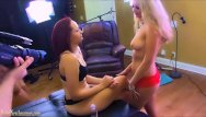 Brande nude - Amateurs on casting couch in first time lesbo