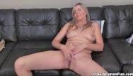 Vintage velvet suits - Blonde milf velvet skye drips her pussy juice on the couch