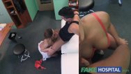 Ejaculation and pleasure Fakehospital kinky nurse helps patient ejaculate