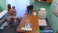 Pussy licked in office Fakehospital petite hot russian teen gets pussy licked and fucked by doctor