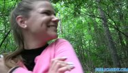Nordegren woods nude - Publicagent innocent looking teen fucking in the woods