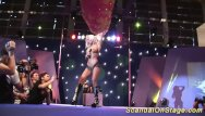 Lohan sex scandal - Wild public dildo sex show