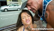 Diesel and dildo The young alicia poz sucks in public and fucks with rob