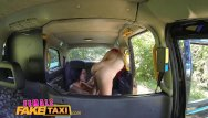 Reality tv that has sex - Femalefaketaxi lesbian cab driver finger fucks tv babe in forest