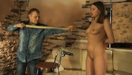 Hot breast torture Lovely girl gets rubber band punishment and hot wax torture.