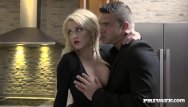 Sienna miller fucked - Horny housewife sienna day fucks two men in the kitchen