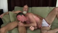 Victor mature gay Travis barebacks and breeds rick