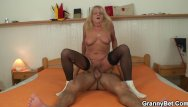 Mature 70 pussy - 70 years old granny in stockings riding
