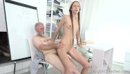 Young granny fucked by teacher - Student paris devine fucked by old teacher
