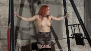 Painful femdom punishment tubes - Lesbian play piercing punishment and extreme amateur bdsm of dirty mary