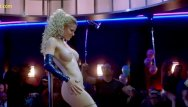 Free celebriity porn fakes Kristin bauer striptease in dancing at the blue iguana movie