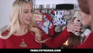 Teen sex cum pic Familystrokes - step-sis fucked during christmas pic