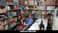 Teen population in jail - Shoplyfter - hot ebony cutie sucks cock to avoid jail