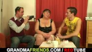 Nude fat grandmas - Two guys interview and fuck fat bitch