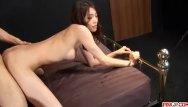Camera inside a vigina and cum Ibuki tries stiff dick inside her warm vagina