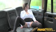 Slut driver - Fake taxi driver enjoys a good milf arse rimming