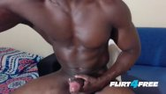 Gay mature free movie Athletic hunk edges drains his monster bbc