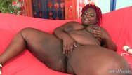 Thick mucosa sex Thick black girl uses sex toys