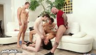 Пїbrazilian deepthroat blowjob gangbang - Prettydirty gina blows stepbrother and all his friends