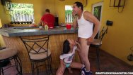 Dad has erotic daughter Holly hendrix has some fun with her dads friend dfmd15108