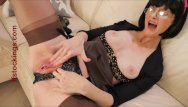 Stockings secretary dildo galleries Julia the squirting secretary