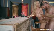 Breast bar - Dirty wife cheats with bar man - brazzers