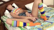 Young lesbian russians - Two horny russians fuck each other with toys