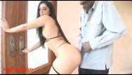 Ou tin streed porn site - Dirty fat spanish girl fucked big black negro cock in her pussy and her tin