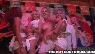 Porno vids forum - Babes have a wet t shirt contest at the club