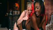 Halloween girl vintage - When girls play - naughty halloween games with chanell heart and karla kush