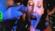 Cum on her face party - Cum covered faces compilation - german goo girls