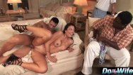 Humiliated husband wife black cocks - White wife takes white cock in front of black husband