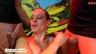 Cum on her pretty face Beautiful lana gets her pretty face cum covered - german goo girls