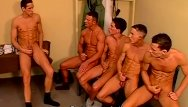 Gay orgy Dirty police officers all out gay orgy