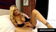 Soaking hot pussies Mega hot milf julia ann soaks her panties in pussy juice