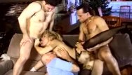 What was a vintage wooden pole used for Blonde milf gets used like a whore