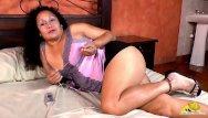 Hairy mature naked vids - Latinchili chubby mature naked tits and pussy