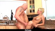 My aunt sucked my cock - Filf - kitchen sex with my aunt kodi gambly