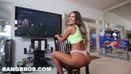 Chick taking huge cock Bangbros - video gamer chick august ames takes a monster fucking