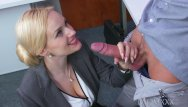 Milf suck Mom blonde big tits milf sucks massive geek cock before hard fucking