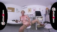 Nude female doctors Naughty blonde granny who waits for her doctor