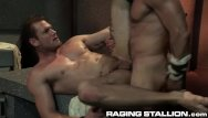 Free sweaty gay video Ragingstallion sweaty studs thick cocks 3some