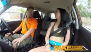 Cum covered shaved pussy Fake driving school gamer babes pussy covered in cum after blowjob