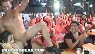 Top 100 swingers Dancing bear - cfnm party - around the world in 100 mouths