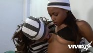 Free lesibian in jail sex movies 2 jailed bitches decide to explore each other for some fun